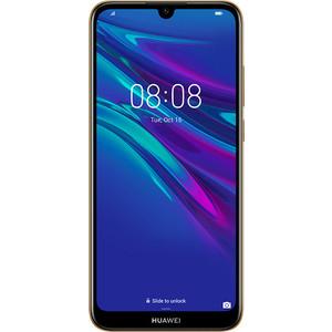 Смартфон Huawei Y6 (2019) Amber Brown смартфон huawei y6 2019 sapphire blue