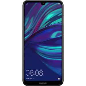 Смартфон Huawei Y7 (2019) Midnight Black huawei mate 20 128gb 4g midnight blue смартфон