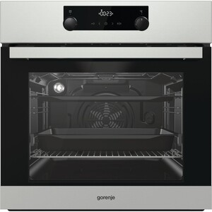Электрический духовой шкаф Gorenje BO735E20X-2 духовой шкаф электрический gorenje bo635e20b 2 черный