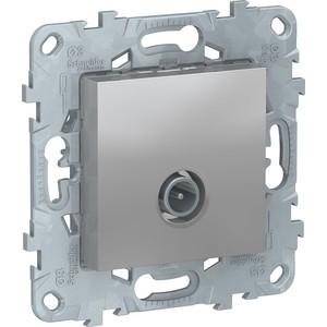 Розетка TV Schneider Electric UNICA NEW алюминий (NU546230)