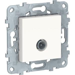 Фото - Механизм TV розетки Schneider Electric UNICA NEW белый (NU546218) механизм розетки simon 15 tv сп одиночная цвет белый 1591475 030