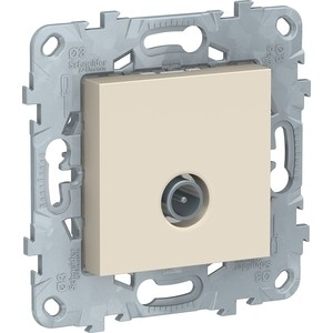 Механизм TV розетки Schneider Electric UNICA NEW бежевый (NU546244)