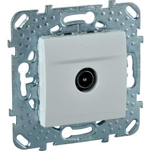 Фото - Механизм TV розетки Schneider Electric СП Unica белый (MGU5.462.18ZD) механизм розетки simon 15 tv сп одиночная цвет белый 1591475 030