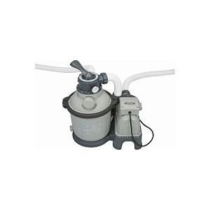 Песочный фильтр-насос Intex 26644 Krystal Clear 4,5м3/ч резервуар для песка 12кг картриджный фильтр насос intex 28638 krystal clear для бассейнов более 457 см