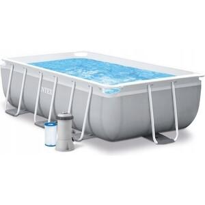 Каркасный бассейн Intex 26784 Prism Frame 300х175х80см (фильтр-насос 2006л\ч) лестница