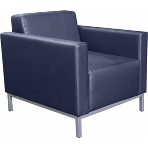 Кресло Euroforma Евро люкс ИК domus, navy синий цена 2017