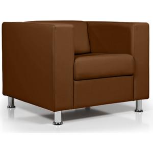 Кресло Euroforma Аполло кожа рулонная dakota, 116 коричневый dakota