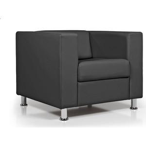 Кресло Euroforma Аполло кожа рулонная dakota, 2155 графитовый dakota