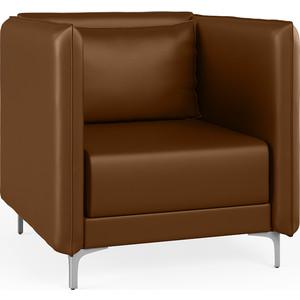 Кресло Euroforma Графит Н кожа рулонная dakota, 116 коричневый