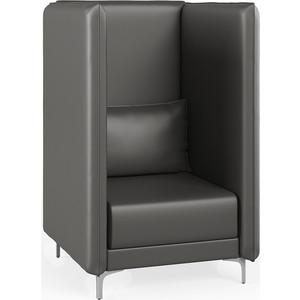 Кресло Euroforma Графит В ИК P2 euroline, 990 серый