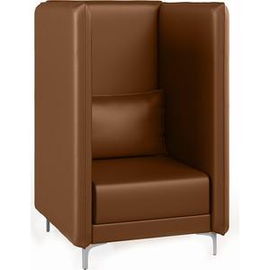 Кресло Euroforma Графит В кожа рулонная dakota, 116 коричневый
