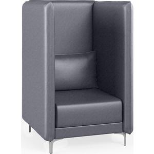 Кресло Euroforma Графит В рогожка bravo, 28