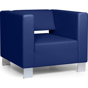 Кресло Euroforma Горизонт (Кожа рулонная Dakota, 2106 (темно-синий))