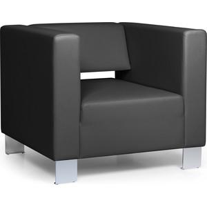 Кресло Euroforma Горизонт кожа рулонная dakota, 2155 графитовый dakota