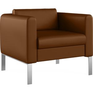 Кресло Euroforma Модерн кожа рулонная dakota, 116 коричневый dakota