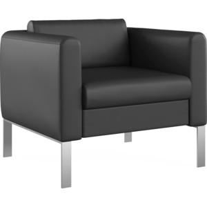 Кресло Euroforma Модерн кожа рулонная dakota, 2155 графитовый dakota