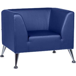 Кресло Euroforma Ультра кожа рулонная dakota, 2106 темно-синий