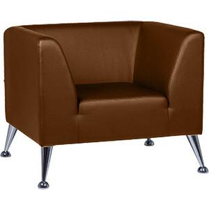Кресло Euroforma Ультра кожа рулонная dakota, 116 коричневый dakota