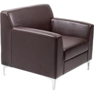 Кресло Euroforma Смарт ИК terra effect, 221 темно-коричневый перламутр на авто цвет темно синий перламутр