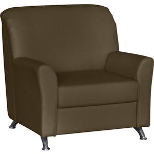 Кресло Euroforma Европа рогожка bravo, brown