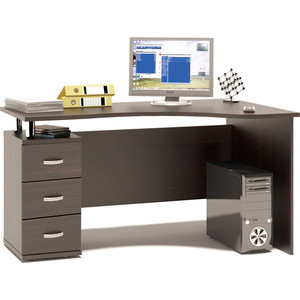 Стол компьютерный Гамма КСТ-1400 венге