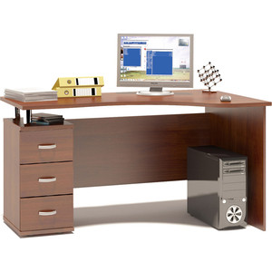 Стол компьютерный Гамма КСТ-1400 орех