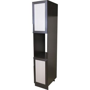 Кухонный шкаф-пенал Гамма Евро венге