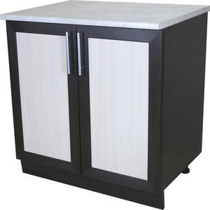Кухонный шкаф напольный Гамма Евро 80 см венге