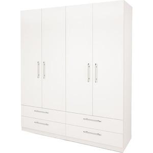 Шкаф комбинированный Гамма Шарм 160х45 белый