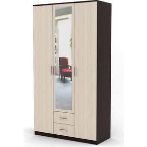 Шкаф распашной Гамма Трио 150х60 венге+вяз