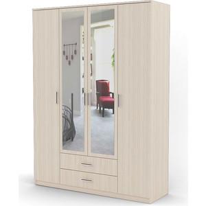 Шкаф комбинированный Гамма Квартет 140х60 вяз