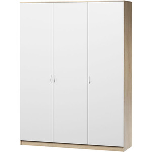 Шкаф комбинированный Гамма Лайт 150х60 дуб сонома+белый