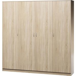 Шкаф четырехдверный Гамма Лайт 180х60 дуб сонома