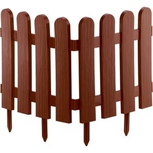 Забор декоративный PALISAD Классика 29 х 224 см, терракот