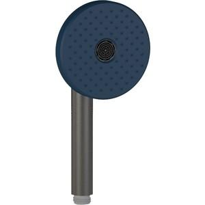 Ручной душ Jacob Delafon Duo двухрежимный, цвет синий, черный матовый (E27796-BLV)