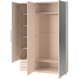Шкаф Гамма Мелодия 90х60 комбинированный