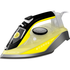 Утюг Polaris PIR 2460АK желтый/серый