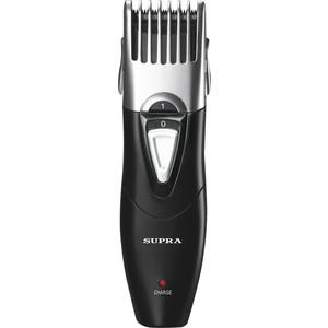 Машинка для стрижки волос Supra HCS-211 черный/серебристый