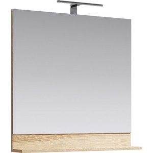 Зеркало Aqwella Foster 80х80 дуб сонома (FOS0208DS)