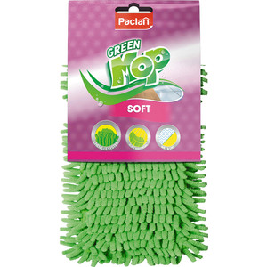 Насадка для швабры Paclan Green Mop Soft, шенилл 1 шт