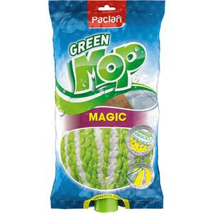 Насадка для швабры Paclan Green Mop Magic веревочная, 1шт сменная насадка для швабры xiaomi deerma spray mop 8шт