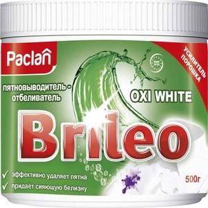 где купить Пятновыводитель Paclan Brileo Oxi White для белого белья, 500 г дешево