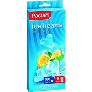 Пакеты для льда Paclan в форме ледяных сердечек 160 кубиков