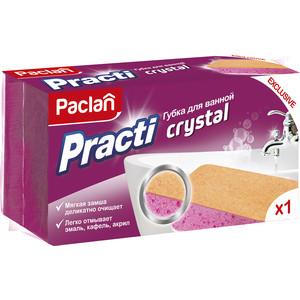 Губка Paclan Practi Crystal для ванной, 1 шт paclan practi universal губки для посуды 5 шт