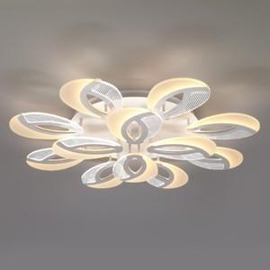 Потолочная светодиодная люстра Eurosvet 90140/12 белый
