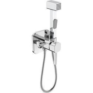 Смеситель для душа IDDIS с гигиеническим душем, встраиваемый (004SBS0i08) смеситель для раковины с гигиеническим душем iddis carlow plus crpsb00i08