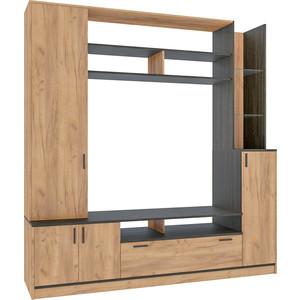 Шкаф многоцелевого назначения Моби Бали 03.296 венге/дуб золотой biodesign подставка атолл 400 золотой дуб