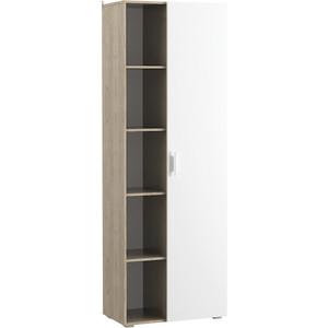 Шкаф многоцелевого назначения Моби Токио 03.298 дуб серый/белый
