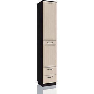Шкаф с ящиками Сильва НМ 013.01-02 М Браво венге/дуб левый