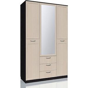 Шкаф комбинированный Сильва НМ 011.76 М Браво венге/дуб